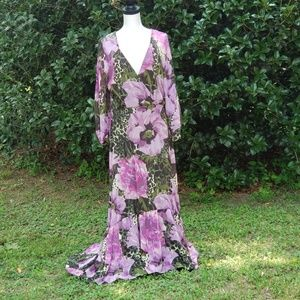 Womens Long Floral Dress